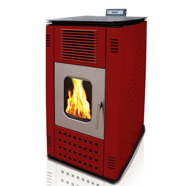 Pellet Stove For Central Heating P12 WATER+AIR